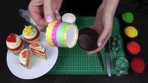 Rainbow Cupcakes! Make a Rainbow Layer Cup Cake - A Cupcake Addiction How To Tutorial