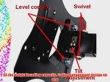 VideoSecu LCD Monitor Plasma TV Flat Panel Tilt Swivel Articulating Wall Mount for LG 22LU55