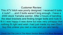 Yamaha Warrior 350 / Raptor 350 ATV Trailer Ball Hitch Review