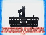 PDR Mounts PDR3442A Articulating Wall Mount for 34 to 42 Displays (Black)