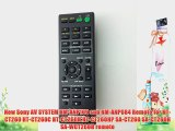 New Sony AV SYSTEM RM-ANP109 sub RM-ANP084 Remote for HT-CT260 HT-CT260C HT-CT260H HT-CT260HP
