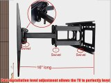 Videosecu Dual Arm TV Wall Mount Bracket for Sony Bravia 32 37 40 42 46 50 52 55 inch LCD LED