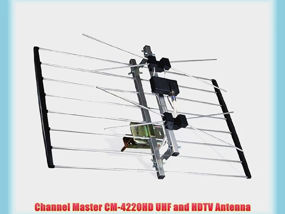 channel master wiring diagram channel master cm 4220hd uhf and hdtv antenna video dailymotion  cm 4220hd uhf and hdtv antenna