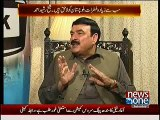 Resignations of 4 PTI members were accepted by the wish of Asif Zardari, Sheikh Rasheed