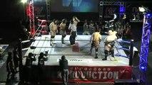 AKIRA, Manabu Soya & Hiroshi Yamato vs. Ryota Hama, Yasufumi Nakanoue & Yusuke Kodama (WRESTLE-1)