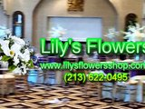 Wedding Flowers Arrangements in Lilys Flowers Shop Los angeles