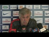 PSG - Ancelotti: « Gameiro s'est excusé »