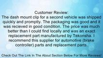 Tekonsha 6927 Primus Dash Mounting Clip Review