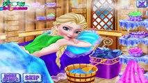 冷凍ゲーム - 冷凍エルザスパ美容ゲーム - FROZEN ELSA SPA COSMETOLOGY Game - Gameplay Walkthrough