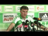 FOOT - L1 - ASSE - Galtier : «Ne pas s'arrêter au Stade de France»