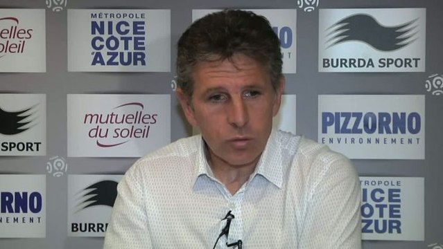 FOOT - L1 - OGCN - Puel : «On parlera de Lyon plus tard»