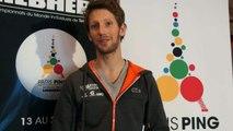 Tennis de table: Mondial Ping - Romain Grosjean