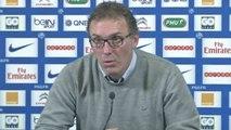 FOOT - L1 - PSG - Blanc : «On respecte beaucoup Lyon»