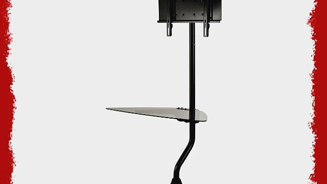 Peerless FPZ-655 Flat Panel Stand for 32 to 55-Inch Flat Panel Screens (Gloss Black)