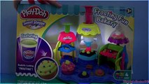 Play Doh Frosting Fun Bakery Playset Mold & Bake Cupcakes With Cake Station Sweet Shoppe play-doh