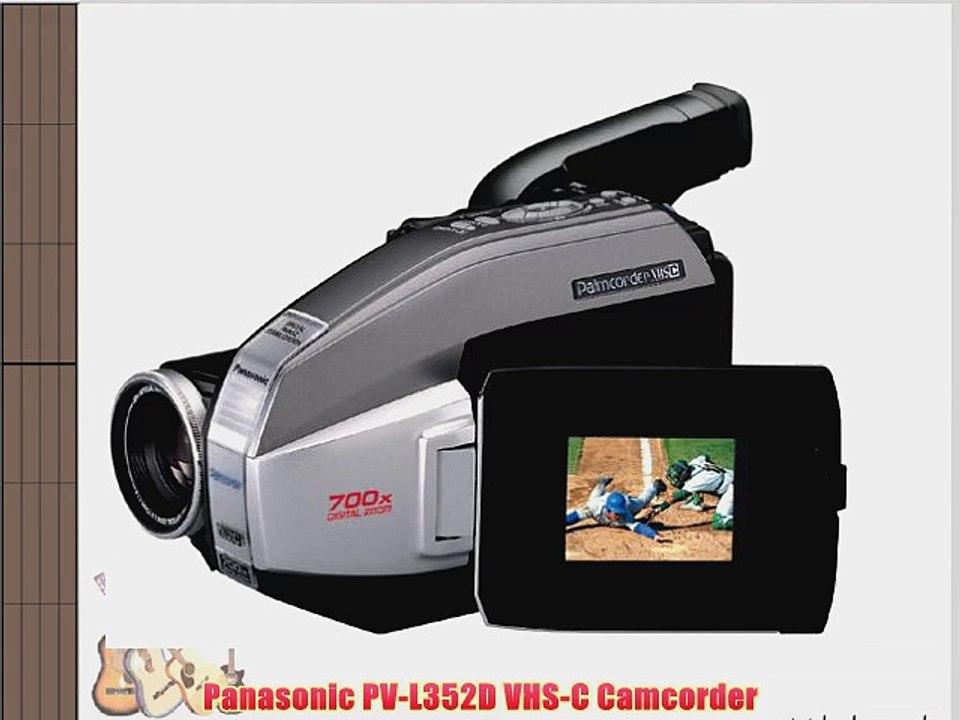 Panasonic Pv L352d Vhs C Camcorder Video Dailymotion