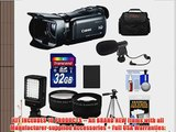 Canon Vixia HF G20 32GB Flash Memory 1080p HD Digital Video Camcorder with 32GB Card   Battery