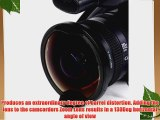 Opteka Titanium Series 72mm 0.3X HD Ultra Fisheye Lens for Panasonic AG-DVD80 AG-DVX100/B AG-HMC150