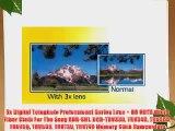 3x Digital Telephoto Professional Series Lens   DB ROTH Micro Fiber Cloth For The Sony HDR-SR1