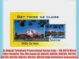 3x Digital Telephoto Professional Series Lens   DB ROTH Micro Fiber ClothFor The JVC Everio