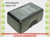 PowerSmart? 14.40V 9200mAh Li-ion Camcorder Battery for PANASONIC BTLH900(with Anton/Bauer