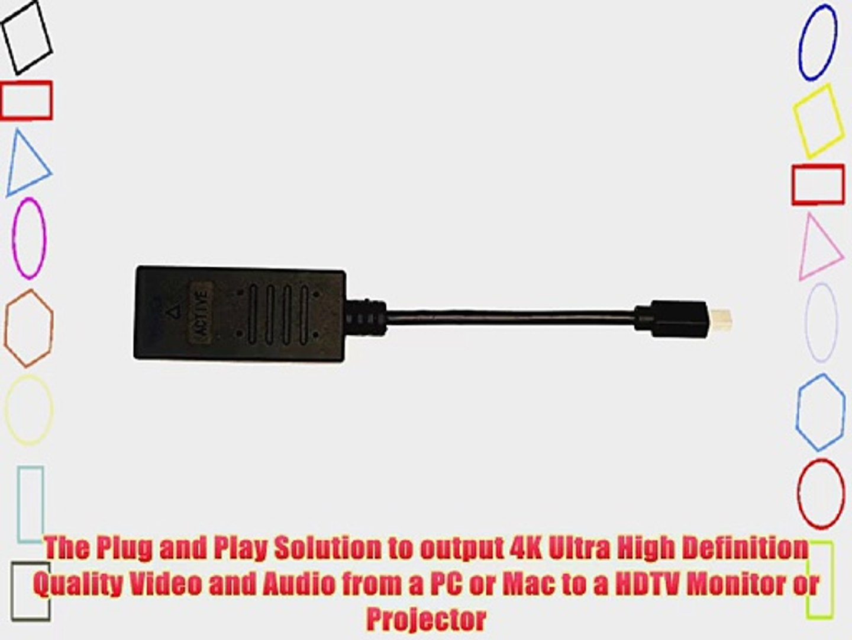 Active Adapter - 900691 4K M//F VisionTek Mini DisplayPort to HDMI