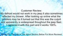 Jeep Wrangler TJ 99-04 Heater/AC Vacuum Switch Mopar Review