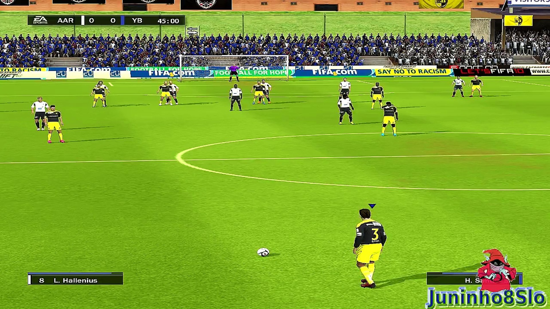 Fifa 10-Manager Mode-FC Aarau vs BSC Young Boys-Game 88