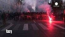 مواجهات بين الشرطة ومتظاهرين في كريمونا الإيطالية