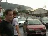 Nicolas Sarkozy: footing à la Réunion