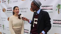 True Blood Actress Jamie Gray Hyder Interviews at Eco Emmy Awards Pre Emmys Womens Empowerment Event