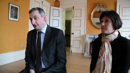 Réaction d'Olivier Cigolotti, nouveau sénateur, après l'élection partielle en Haute-Loire
