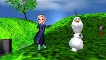Baa Baa Black Sheep Children Nursery Rhymes _ Frozen Elsa Olaf Baa Baa Black Rhy