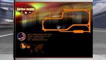 Tour de piste à Sardian short en Super Karting sur Rfactor