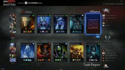 The Alliance vs Team Empire Game 1 - joinDOTA Masters @TobiWanDOTA @RyuUboruZDotA