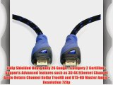 Aurum Cables High Speed HDMI Cable 26 AWG (50 Ft) - Supports 3D Ethernet and Audio Return [Newest
