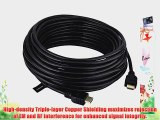INSTEN? 2 Pack ULTRA PREMIUM 50 FT High Speed HDMI Cable M/M 1.3 GOLD CABLE HDTV 1.3 1080P