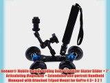 Neewer? Mobile Rolling Sliding Dolly Stabilizer Skater Slider   7 Articulating Magic Arm