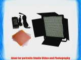 600 LED Light Panel DIMMABLE Professional Video Light Panel Studio Video Light Lighting LED