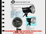 Photography Video Studio Lighting Kit Variable Output Continuous Light 2000 Watts