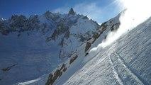 Vallée Blanche Petit Envers du Plan Chamonix hors pistes