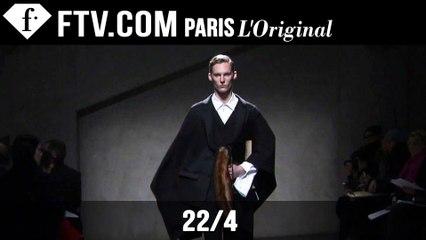 22/4 Men Fall/Winter 2015-16 | Paris Men's Fashion Week | FashionTV