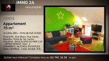 A vendre - Appartement - St-Gilles - St-Gilles (BXL - Porte de Hal) (BXL - Porte de Hal) - St-Gilles (BXL - Porte de Hal) (1060) - 70m²