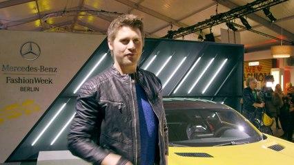 Im Mercedes AMG GT S zur Mercedes-Benz Fashion Week