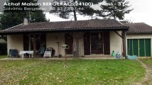 A vendre - maison - BERGERAC (24100) - 3 pièces - 74m²