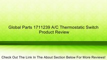 Global Parts 1711239 A/C Thermostatic Switch Review
