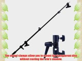 Neewer?Photography Studio Durable Telescopic Zipdisc Clamp Holder For Lighting System Reflector