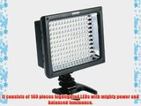 YONGNUO YN-160S 160 LED Video Light for Canon Nikon Olympus DV Camcorder and Digital SLR Cameras