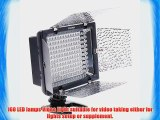 EVERSTAR? Yongnuo YN-160 LED video light With 160pcs Lamps for Camcorder DSLR Camera Canon