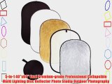 5-in-1 40x60 Oval Premium-grade Professional Collapsible Multi Lighting Disc Reflector Photo